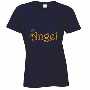 Navy Angel Tee